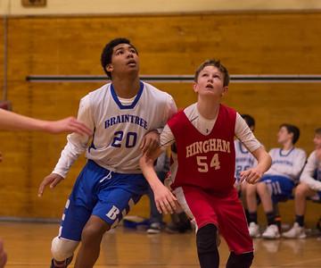 1/21/18 8A Boys Basketball: Braintree vs Hingham
