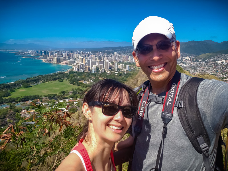 2020 02/09: Running, Eating, Hiking, Waikikiing
