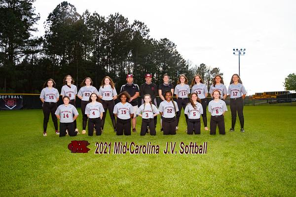 2021 Mid Carolina JV  softball