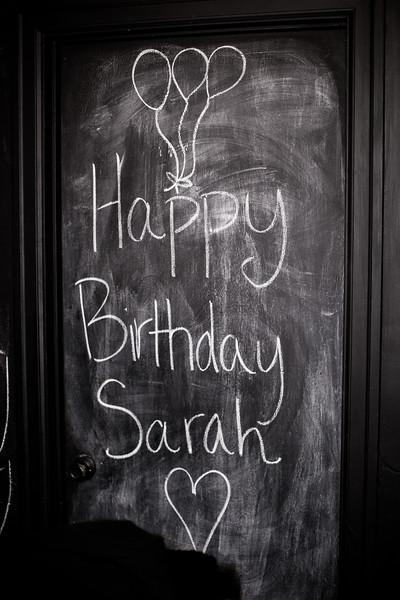 Sarah Birthday