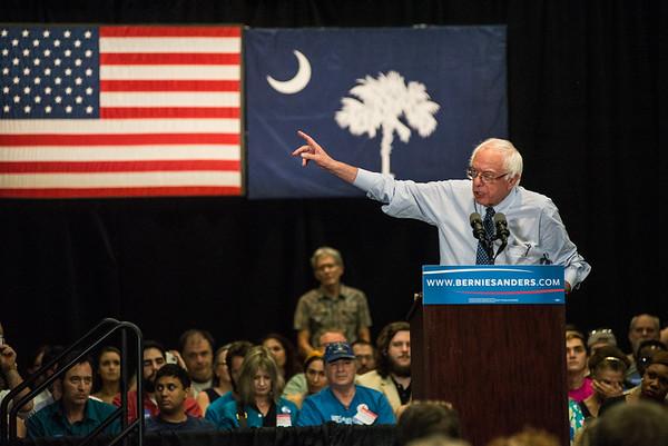 Bernie Sanders Columbia, SC 08-21-2015