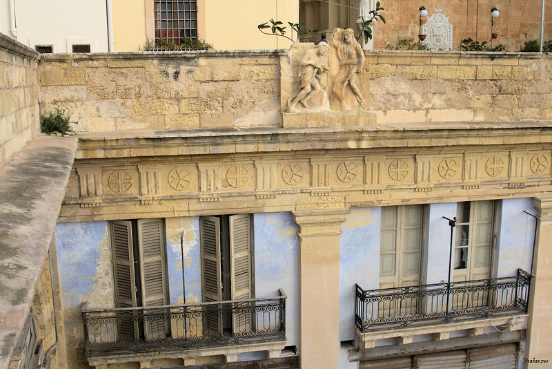 Malta.    Valletta Balconies.   03/23/2019