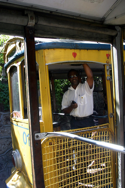 Trolley, takes you some of the distance, Corcovado Panorama and getting there.. 2004