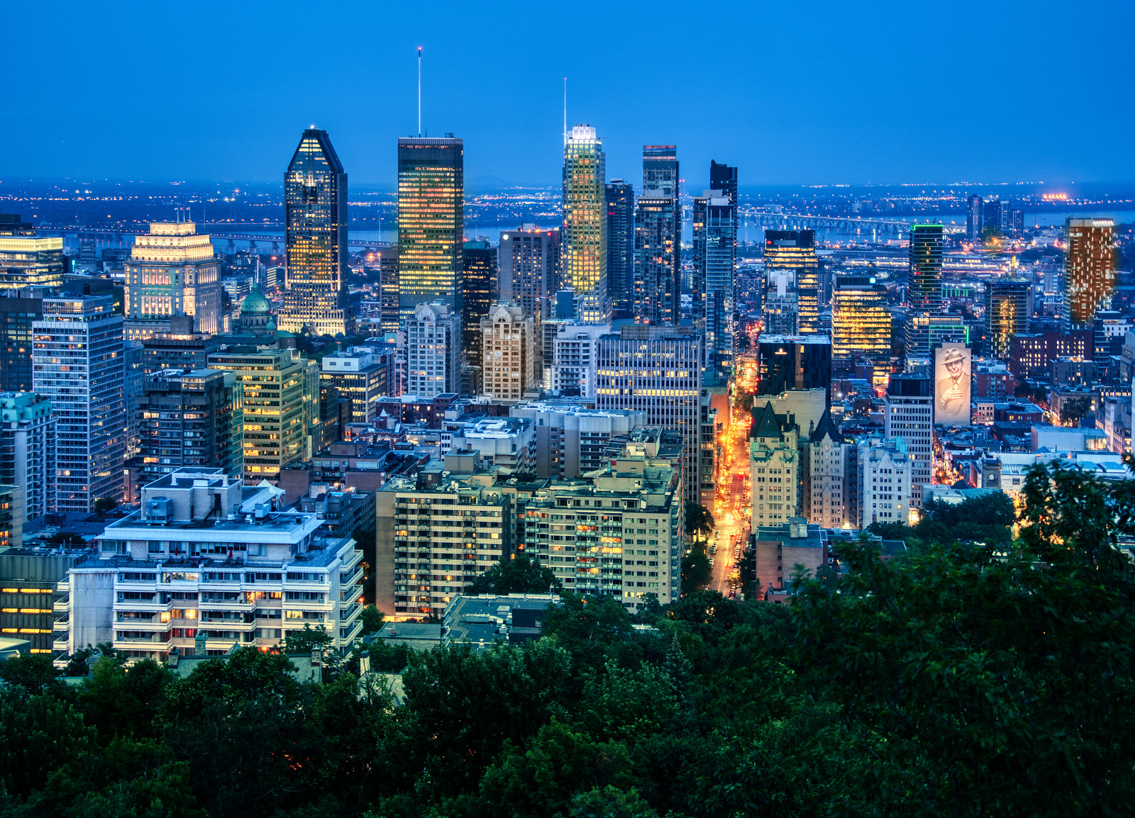 Montreal from the Hilltop