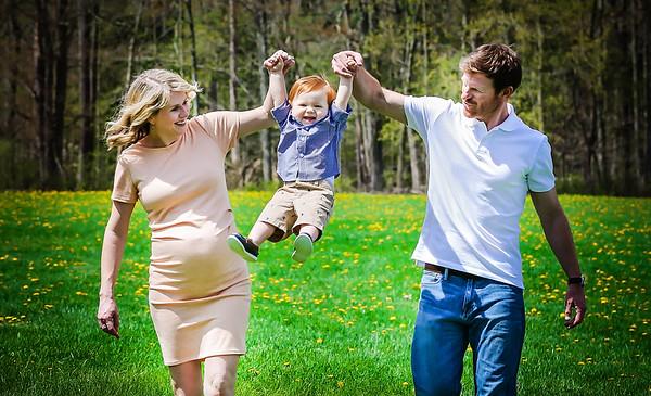Macklin 1 Year Family Portraits