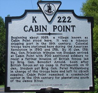 Cabin Point Marker *