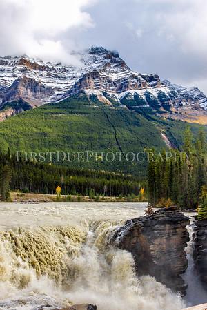 Athabasca Falls, Alberta, Canada Sept 2015