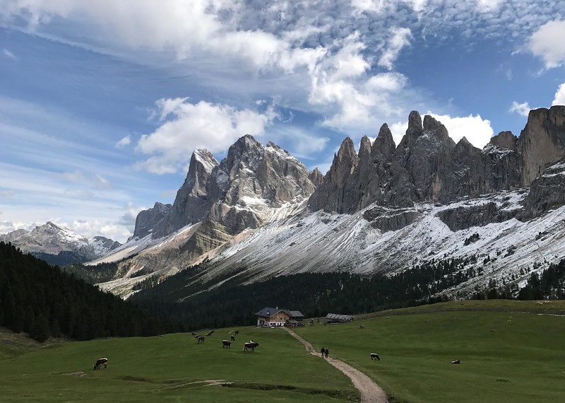 Erika Holm - Self Guided Dolomites Tour 2017
