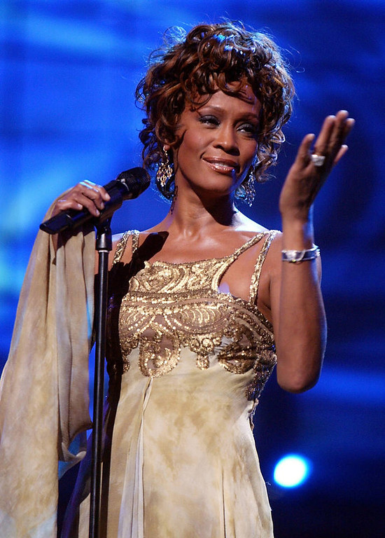 . Singer Whitney Houston.  (Photo by Kevin Winter/Getty Images)