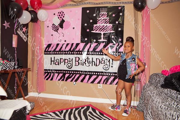 Kelis 6th Year old Spa Party