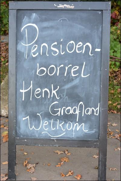 Pensioenborrel Henk Graafland