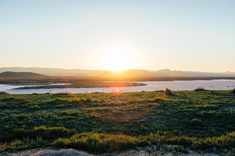 Soda Lake Sunset