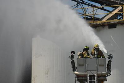 08-14-14 Coshocton FD Grain Bin Fire