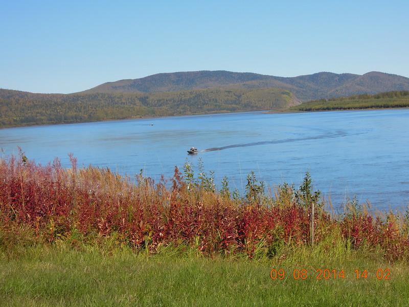 Riverside Autumnal Beauty