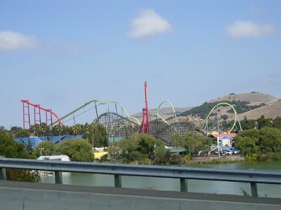 Six Flags Discovery Kingdom, September 16, 2007