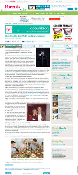 Parenting Magazine-The Road to Rio With Caitlin Leverenz   GoodyBlog.png