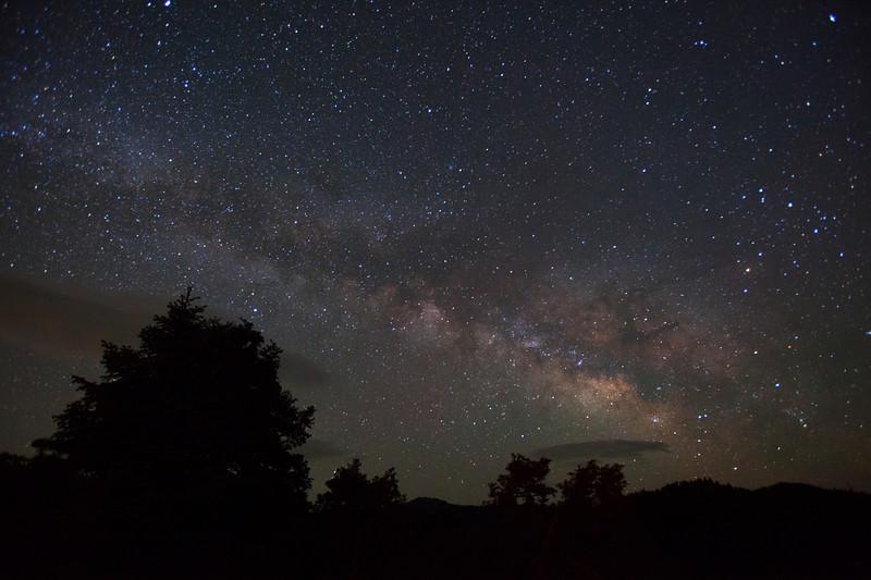 Mt. Parnon Milky  Way View
