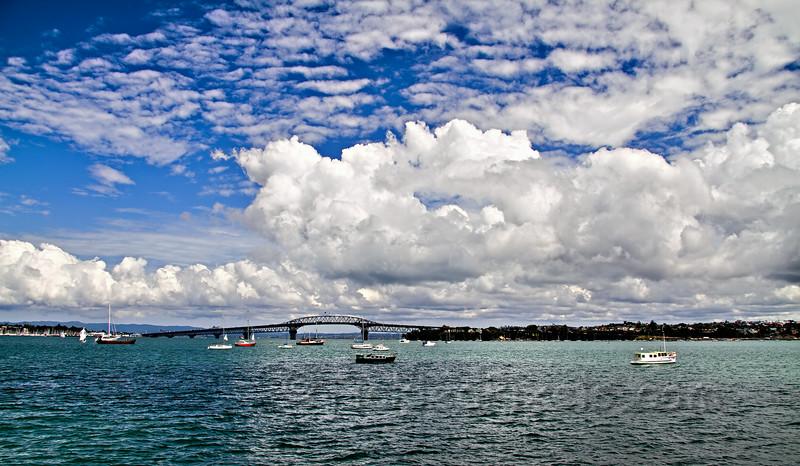Crossing Waitemata Harbour