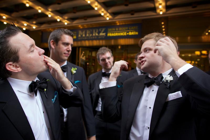 Le Cape Weddings - Chicago Cultural Center Weddings - Kaylin and John - 08 Groom Creatives 16