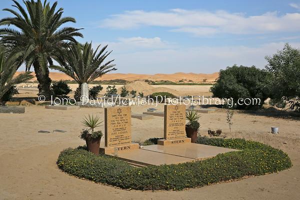 NAMIBIA, Swakopmund. Jewish Cemetery (2.2013)