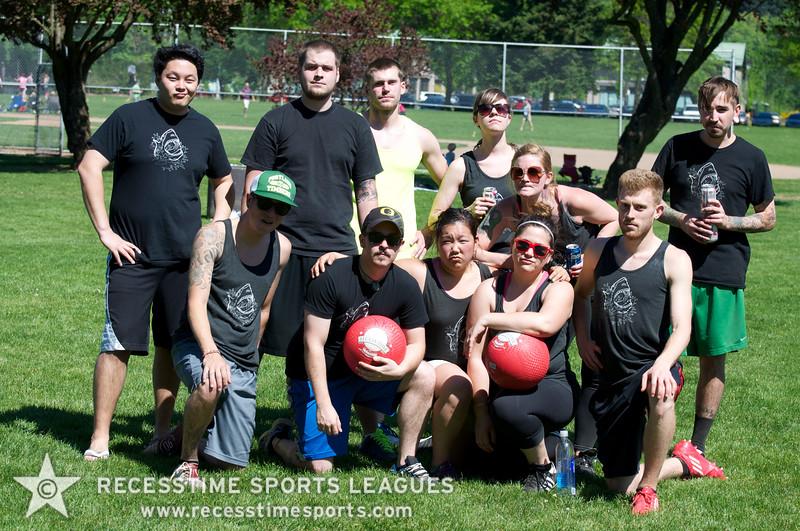 Recesstime Sports Leagues Portland Kickball Spring 2013 Dodgeball Bowling Ping Pong Mushball - 189