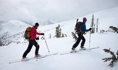 Needle Peak BC ski