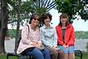 2015-06-06 Hudson River Bridge River Walk V(69) Kathy Martha Sandy (Mom)