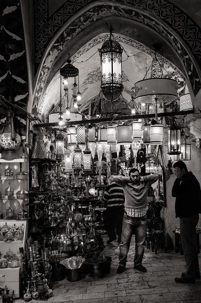 Grand Bazaaar lighting shop