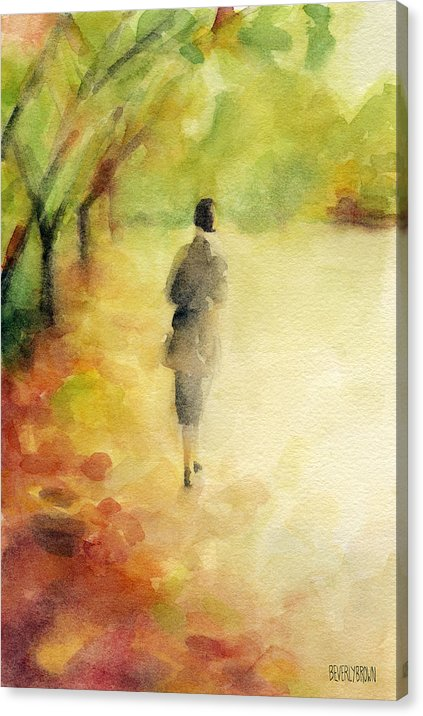 Rustic autumn inspired canvas wall art by Beverly Brown. Available in multiple sizes & framing options. beverlybrown.com
