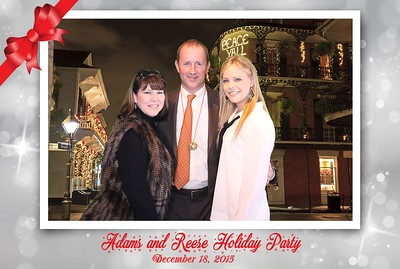 Adams and Reese Holiday Party 2015 @ Latrobes