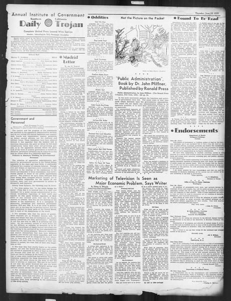 Daily Trojan, Vol. 26, No. 155, June 13, 1935
