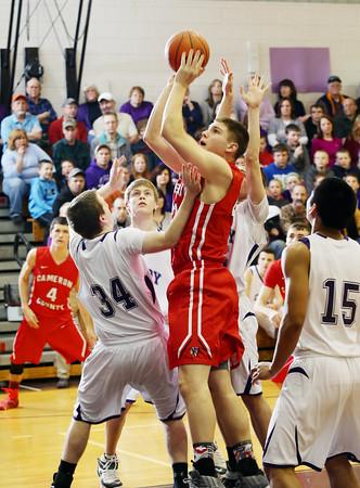 2015 Cameron County Boys Basketball @ Coudersport