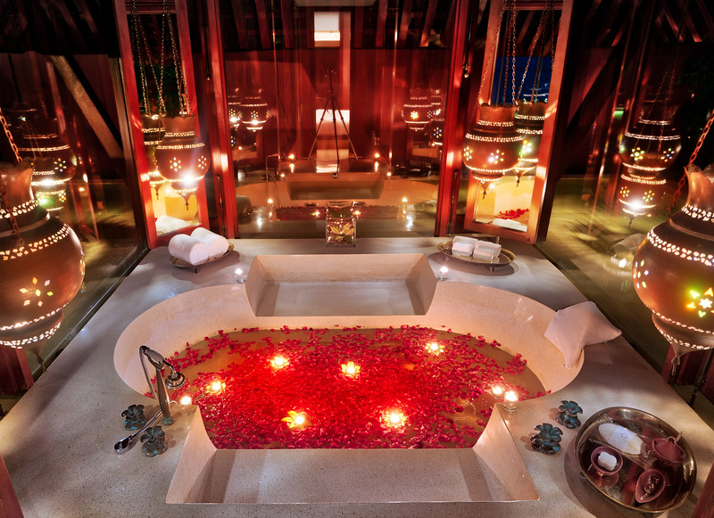 A Romantic Bath For One