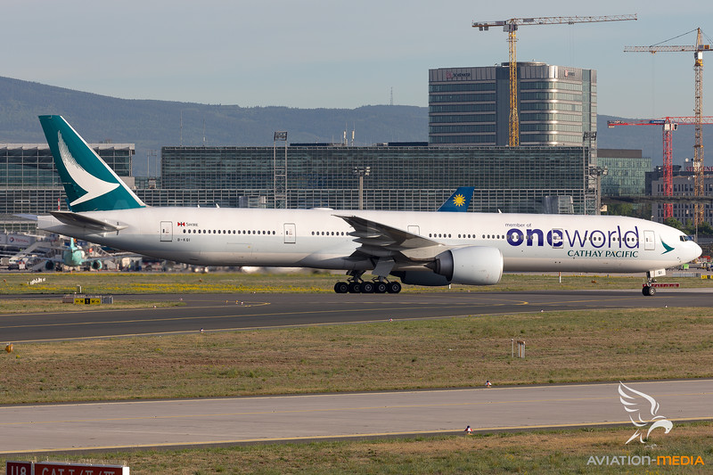 Cathay Pacific Airways Oneworld Livery