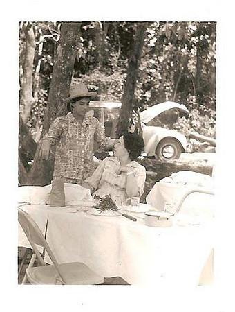 Arredores de Andrada Belinha Laranjeira e mae Lena Laranjeira