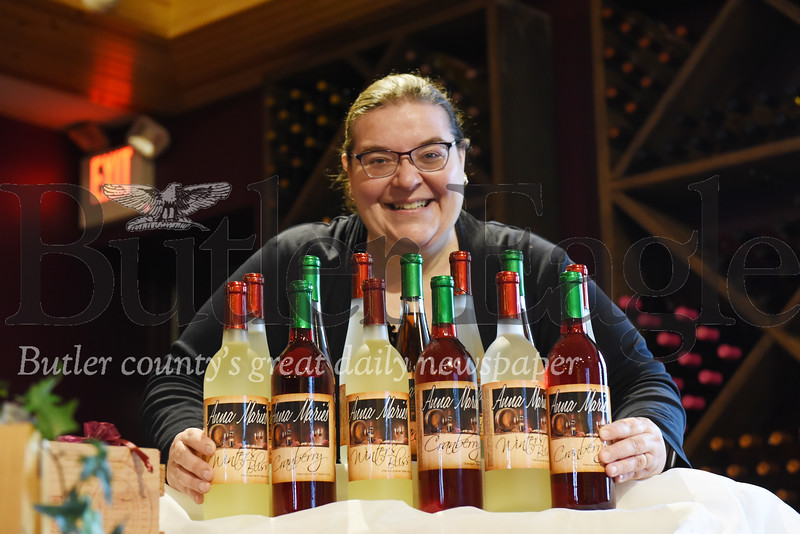 Harold Aughton/Butler Eagle: Jodie Stock of Anna Marie's Winery.