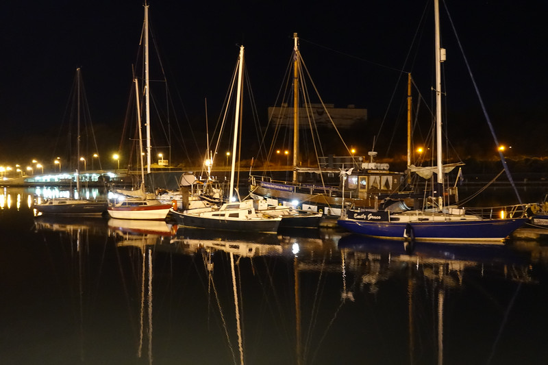 Marinas Across from the Granville Hotel