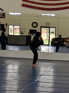 2019-4-13 Tre's Red belt testing