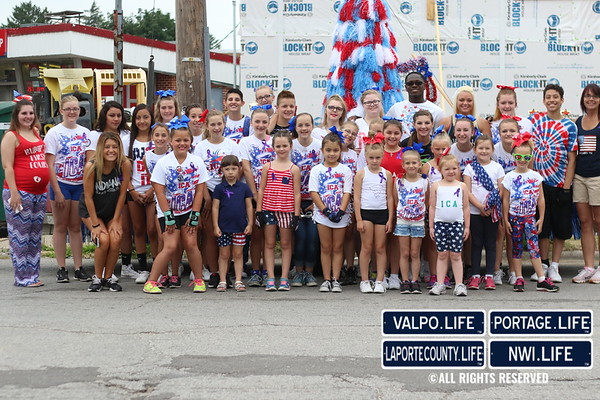 2016 La Porte Jaycees 4th of July Parade