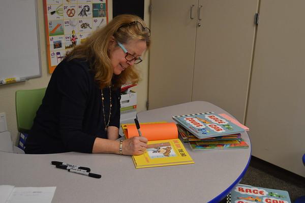 Visiting Author Rebecca Kai Dotlich (5/9/18)