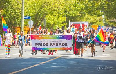 25TH ANNUAL VICTORIA PRIDE PARADE 2018 - MacDonald Park , Victoria BC