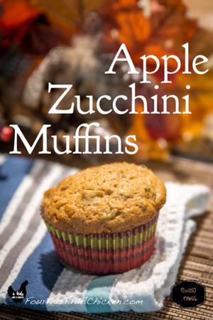 Apple Zucchini Muffin