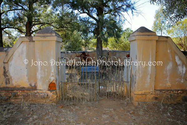 SOUTH AFRICA, North West Province, Zeerust. Old Jewish Cemetery (8.2013)