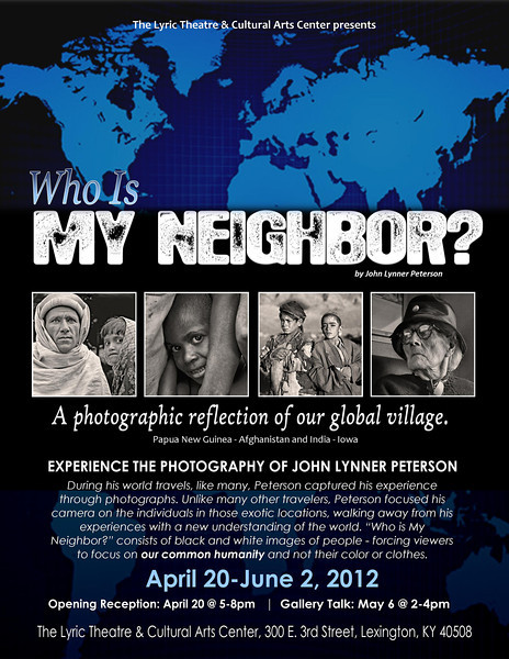 "Kentucky Photographer ""Who is My Neighbor"" - Lyric Theater and Cultural Arts Center"
