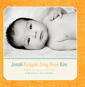 Birth Announcements Samples