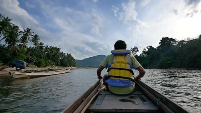 Sungai Kampar Kiri Hulu RIAU.
