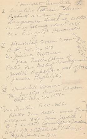 1932 Van Arsdale Vroom Van Nest MWK Compilation