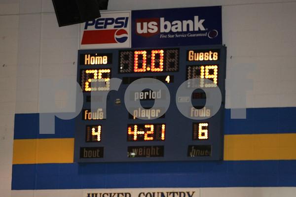 Varsity-Oak Grove vs Higginsville 12-7-09