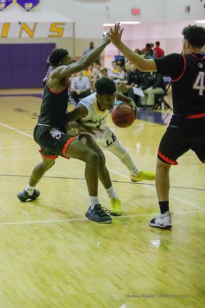 Boys Varsity Basketball v Hayfield 12/7/18