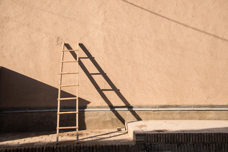 A ladder in Khiva